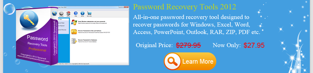 Spower Password Recovery Tools