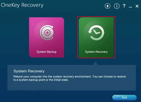 Factory Reset Lenovo Laptop with Onekey Recovery
