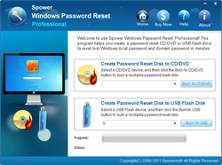Spower Windows Password Reset