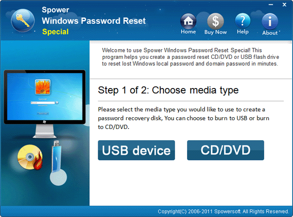 forgotten windows admin password recovery freeware