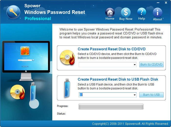 Windows Password Reset - 100% recovery rate