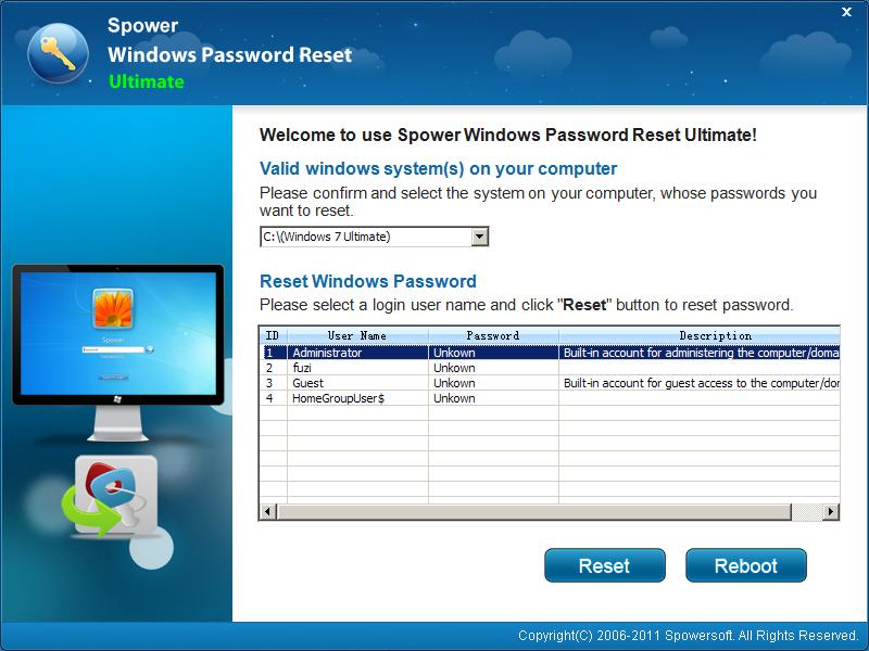 Windows Password Reset Tool Free Download