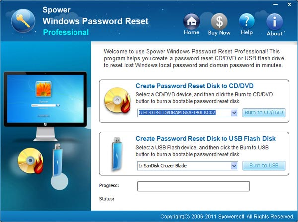 windows xp administrator password recovery bootable cd