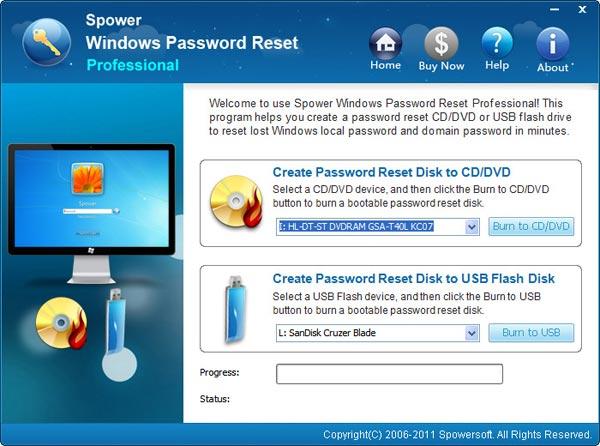 Forgot Windows xp admin password, how to reset?