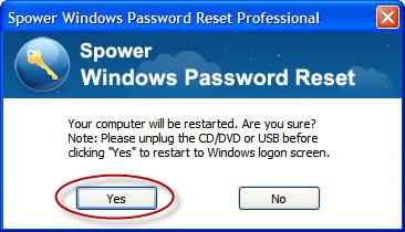 Spower windows password reset activation code